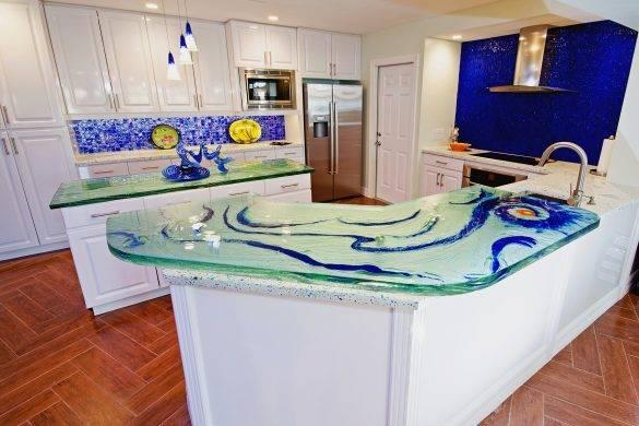 Custom Glass Countertops