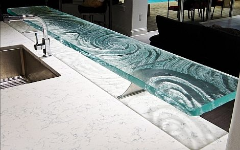 How Strong are Glass Countertops?