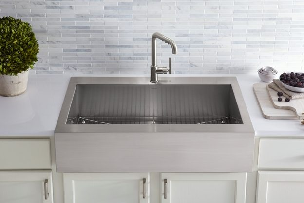 Countertop Kitchen Sink : Glass Countertop Kitchen Sink Choices. - Downing Designs