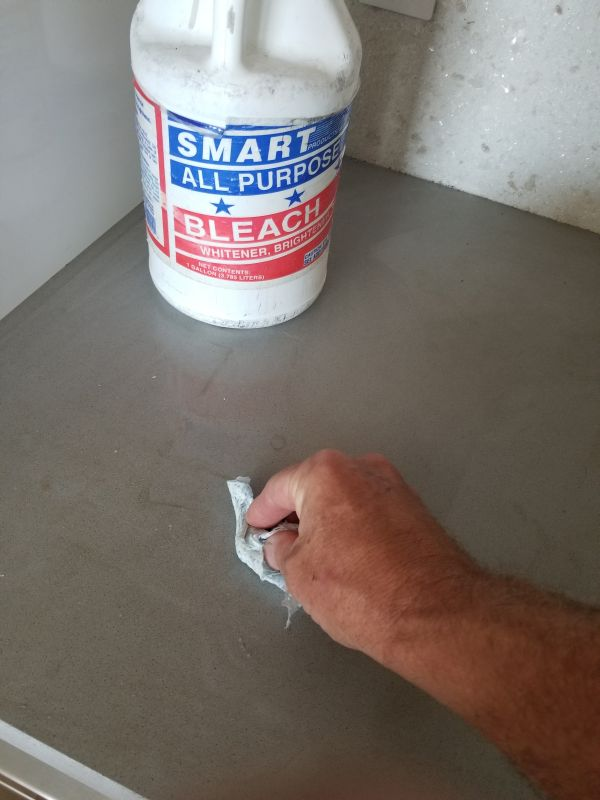 How To Clean Stains In Concrete Countertops Downing Designs