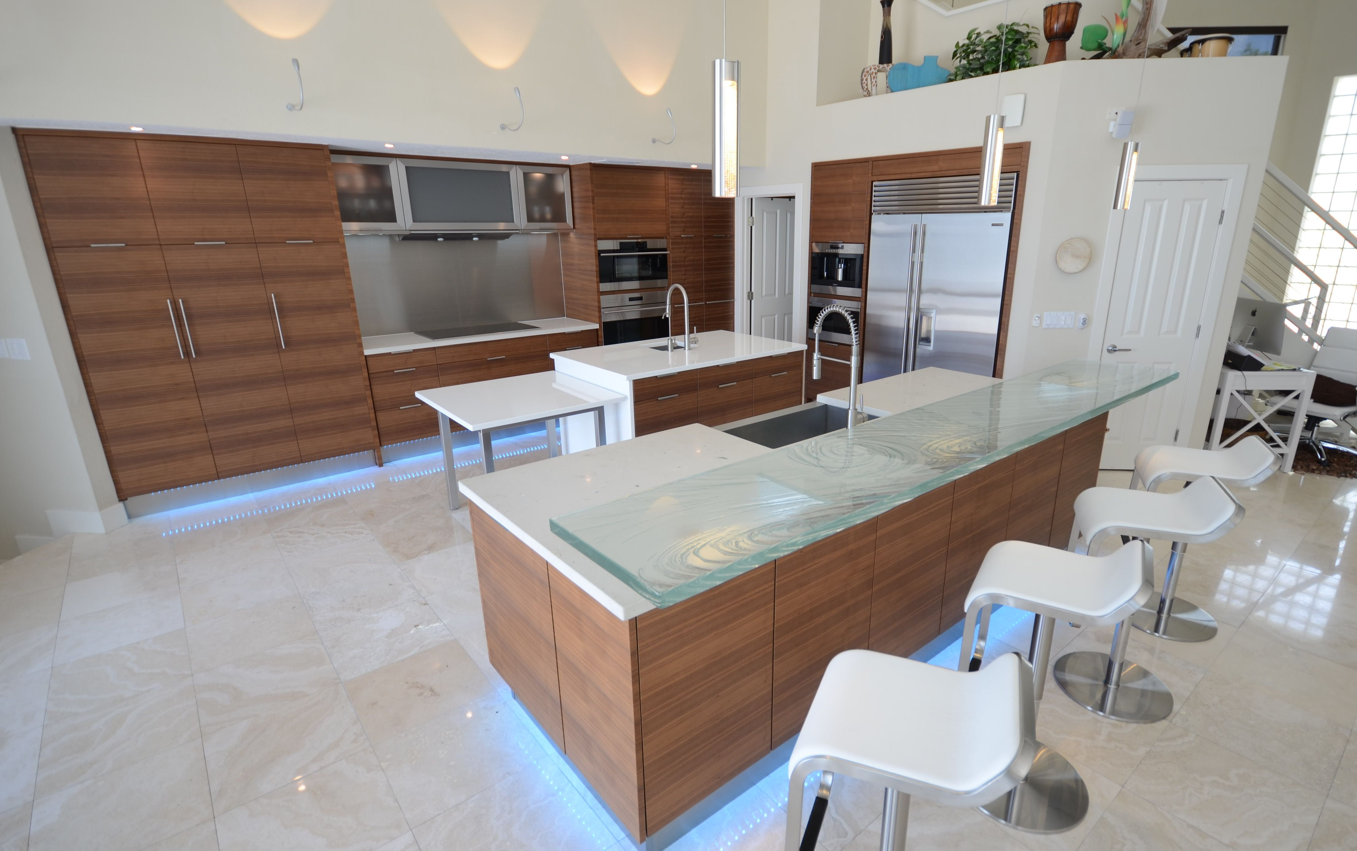 Buyers Guide To Custom Glass Countertops, White Glass Countertops And  Concrete Countertops Info Blog.