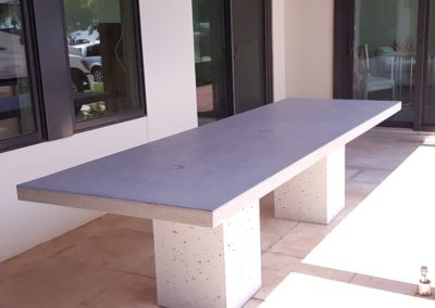 Concrete Table and Base
