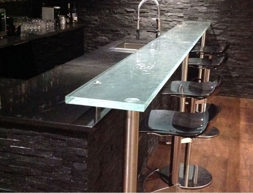 Thinkglass bar top