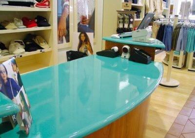 Turquoise Lava stone desk top