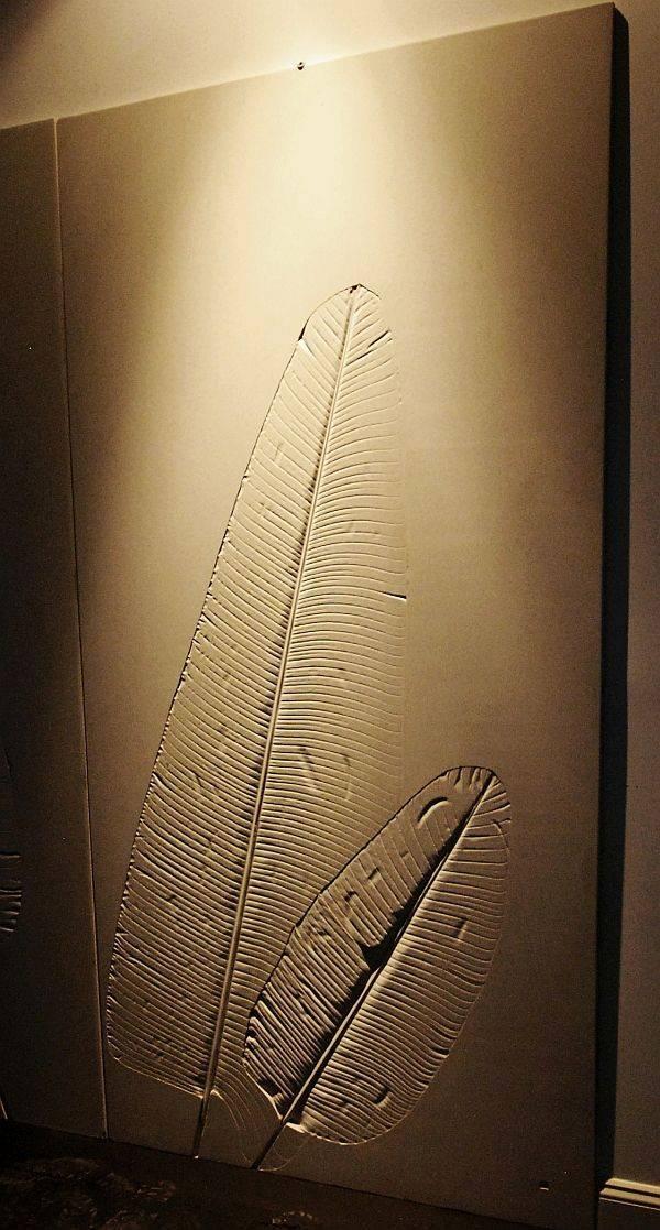 Concrete Wall Tile leaf casting