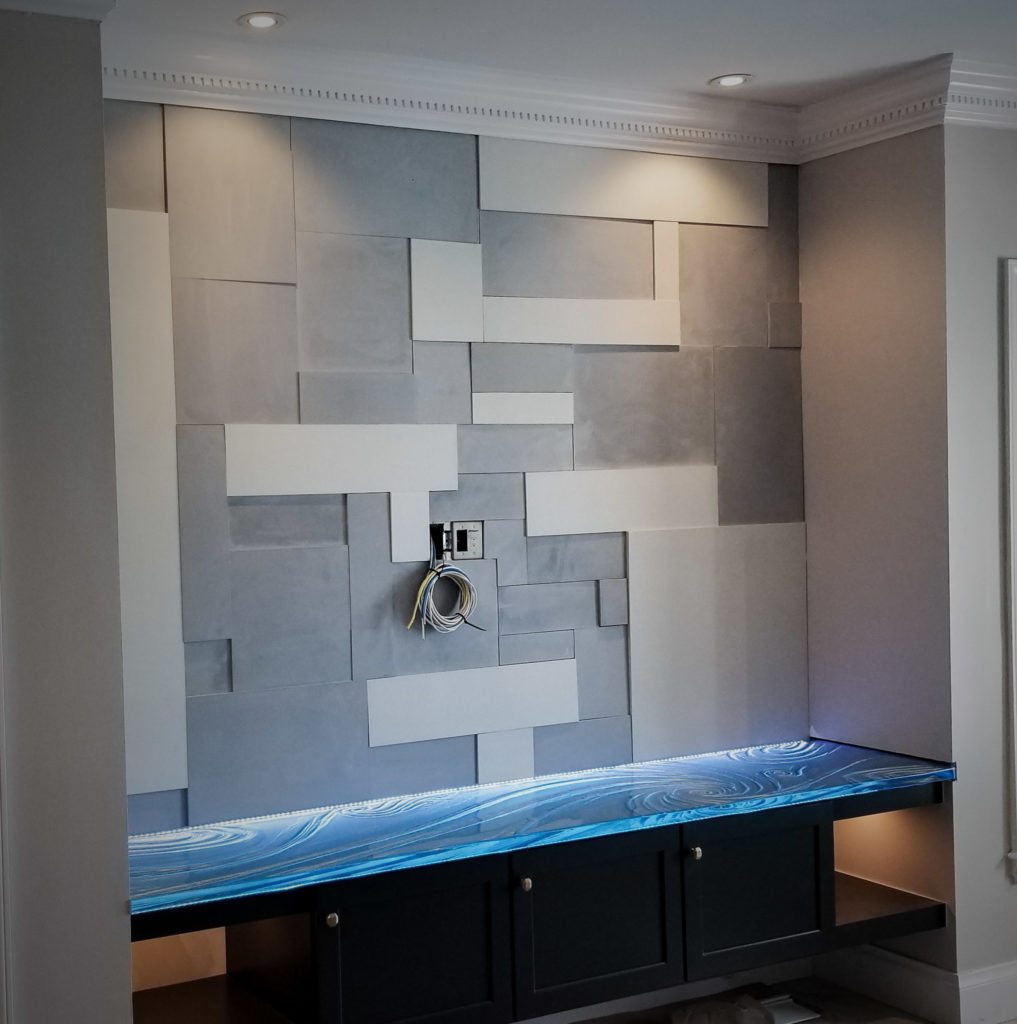 Concrete Wall Tile Large Mondrian