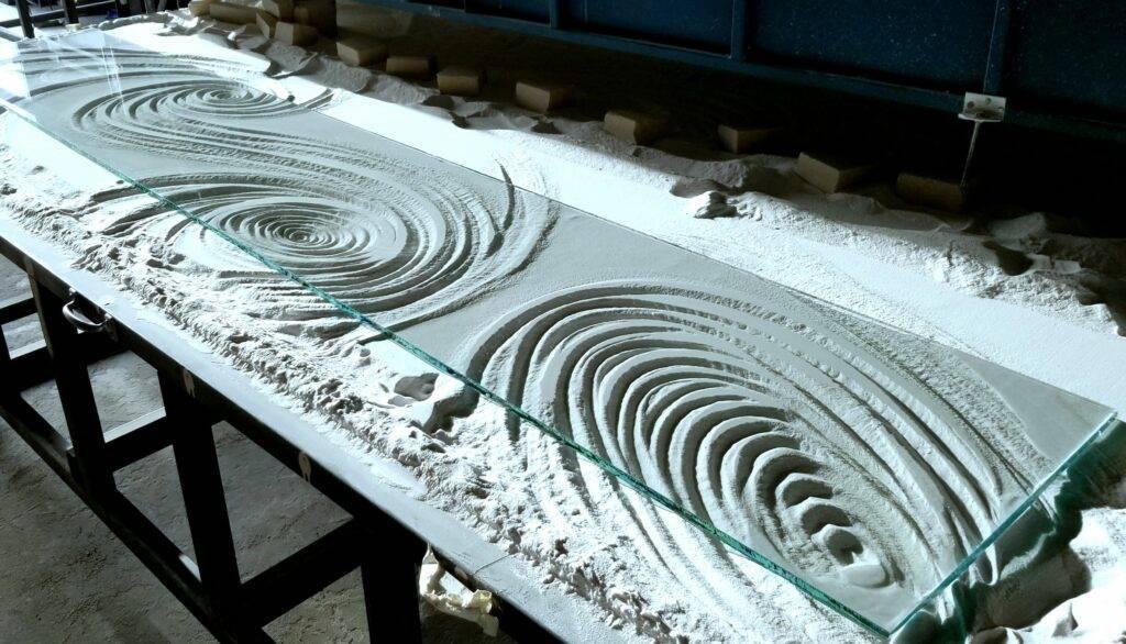 Glass Countertop Raised Bar Custom