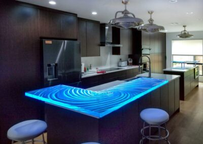 Scottsdale Arizona Glass Countertop